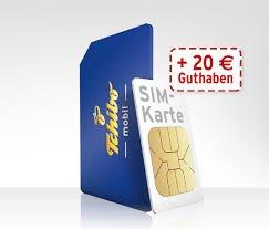 Tchibo Prepaid-Karte mit 20€ Startguhaben für 4,95€