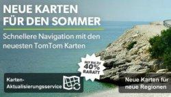 TomTom: 10€ Gutschein und 40% Rabatt auf Karten und Aktualisierungsdienst