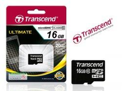 TRANSCEND MICRO SDHC 16GB ULTIMATE SPEICHERKARTE CLASS10 nur 12,59EUR