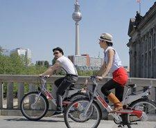 über eine Std. kostenlos Mietrad fahren durch 5€ Gutschein für Call a Bike der Deutschen Bahn
