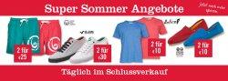 Verschiedene Sale Aktionen – 2 für 10€ + Trikots für 17,99€ + Sommerschlussverkauf @MandMDirect