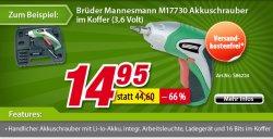 Werkzeug Sale bei Voelkner – bis zu 70% reduziert +10€ Gutscheincode MBW 60€