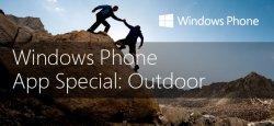 Windows Phone App Special: Outdoor – derzeit 6 kostenlose Apps über Facebook, über 50€ sparen.