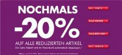 20% Extra-Rabatt auf alle bereits reduzierten Artikel @Görtz (nur heute!)