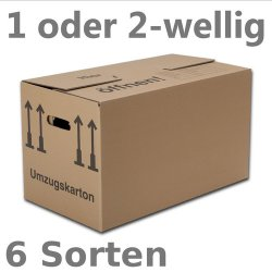 25 Profi-Umzugskartons für 22,28€ (1 Karton = 0,89€!) @eBay
