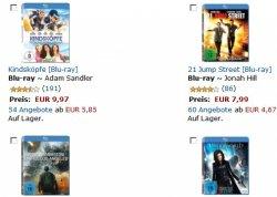3 Blu-rays für 24€ versandkostenfrei @Amazon (402 Titel zur Auswahl)