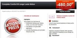 480 Euro Sofort-Cachback: Telekom Complete Comfort M LTE-Tarif für junge Leute & Studenten bis 29 Jahre für mtl.39,95€ @24mobile.de
