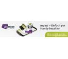 5 Euro Startguthaben für das mobile Bezahlsystem mpass + virtuelle Mastercard
