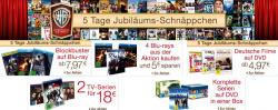 5 Tage Jubiläums-Schnäppchen auf Blu-rays,DVDs und Serien bei Amazon