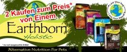 50% Rabatt auf Earthborn Holistic Hunde- und Katzenfutter + 10% für Neukunden @Zoogigant