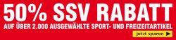 50% Rabatt auf über 2.000 Ausgewählten Sportartikeln mit Gutschein @SC24.com