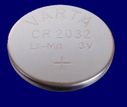 5x Varta Lithium Knopfzelle CR2032 für 1,39€ inkl. Versand bei eBay
