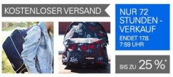 72 Stunden Eastpak Sale bei eBay: Taschen und Rücksäcke reduziert