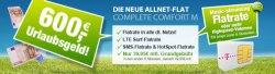 AllNet / SMS Flat / LTE Flat (750MB) eff. 22,45€ durch 600€ Auszahhlung