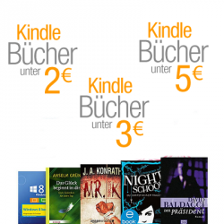 Amazon Kindle eBooks-Preishits: eBooks unter 5,00 €, 3,00 € und unter 2,00 €