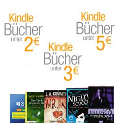 Amazon Kindle eBooks-Preishits: eBooks unter 5,00 €, 3,00 € und unter 2,00 €