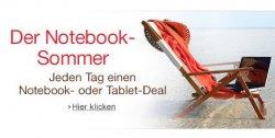 Amazon Tablet und Notebook Sommer: jeden Tag neues Blitzangebot – ab Montag 5.8. 14 Uhr