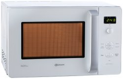 Bauknecht MW 40 WS Mikrowelle für 74,90€ inkl. Versand (Idealo 91,19 €) @amazon