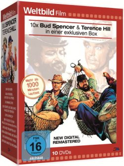 Bud Spencer & Terence Hill 10er-Box – Weltbild-Edition (DVD) für 14,99 Euro