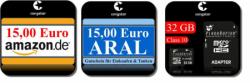 Congstar Prepaidkarte für 9,99€, inkl. 15€ Startguthaben + 15€ Amazon (…) Gutschein kostenlos! @eBay [=~20€ Gewinn!]