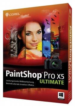 Corel PaintShop Pro X5 Ultimate für 49,00€ inkl. Versand (Idealo 71,97€) @amazon