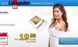 D-Netz Allnet-Flat mit 1GB, monatlich kündbar! für nur 19,95€/Monat @DeutschlandSim.de
