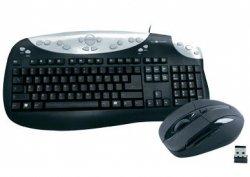 Desktop-Set – Multimedia-Tastatur und Funkmaus für 12,99€ @conrad.de