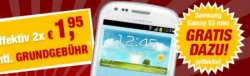 getmobile: Handys komplett kostenlos (Sony Xperia E, Samsung Galaxy Ace, HUAWEI Ascend Y300)