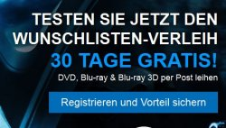 Gratis: 30 Tage kostenlos DVD-Verleih & Video on Demand @Videobuster
