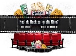 GRATIS Kinokarte beim Kauf von 4 Dosen Rhinos Energydrink @facebook.com