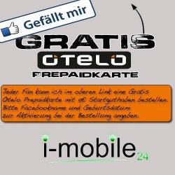Gratis Otelo Prepaidkarte inkl. 5€ Guthaben! @Facebook