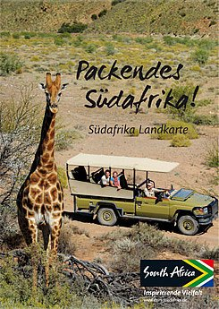 Gratis Reiseführer und Landkarte von Südafrika – portofrei.