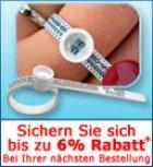 Gratis Ringgrössen Maßband und 6% Gutschein @trauring24.de