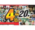 Große Entertainmentaktion bei MediaMarkt 4 Filme für 20€, 3 CDs für 25€, 3 Games für 49€