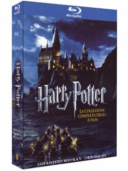 Harry Potter Blu-ray Komplettbox für 35,41 € inkl. Versand @Amazon.es