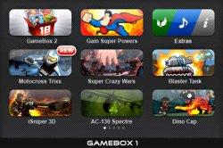 [iOS] GAMEBOX 1 (40 Spiele!) kostenlos! @iTunes