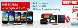 KOST-NIX Aktion bei handybude.de: DuoVertrag abschließen und kostenloses Handy oder Spielekonsole erhalten