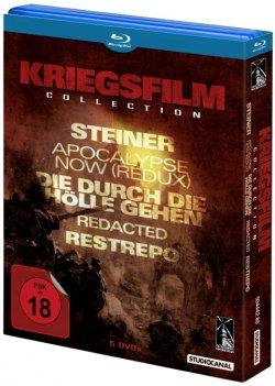 Kriegsfilm Collection auf Blu-ray mit Gutscheincode für 31,67 Euro bei media-dealer