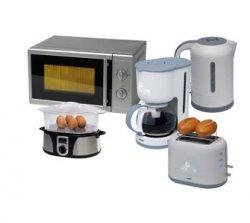 MEDION Bundle (Mikrowelle, Kaffeemaschine, Wasserkocher, Toaster + Dampfgarer) für 92,07 Euro inkl. Versand durch Gutschein @plus.de