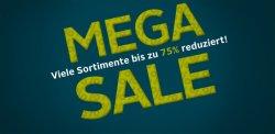 Mega-Sale mit bis zu 75% Rabatt + 15,95 Euro Neukunden-Gutschein bei Otto