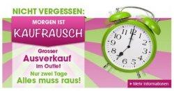 Nur am Dienstag ab 7 Uhr: Kaufrausch bei limango.de – Ausverkauf im Outlet