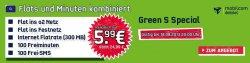 o2 Green S Special Vertrag für 5,99 Euro statt 24,88 Euro monatlich bei handy2day
