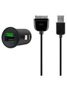 Belkin Micro USB Car Charger inkl. 30-Pin Sync-/Ladekabel 5€ Keine Versandk. @shop.vodafone.de