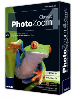 PhotoZoom 4 Classic kostenlos statt 54€! @Benvista (für Windows und Mac!)