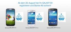 Samsung verschenkt Zubehör an Galaxy S4/S4 Mini Besitzer im Wert von 100€