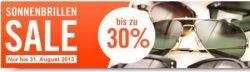 Sonnenbrillen Sale mit bis zu 30% Rabatt @MisterSpex.de (z.B. Ray Ban, Esprit, Boss, Armani, Calvin Klein…) – nur bis Ende August