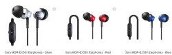 Sony MDR-EX58V Earphones für 12,39€ inkl. Versand bei thehut.com = 50% gespart