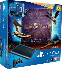Sony PS3 Slim 12GB inkl. Move + Wonderbook für 154,02 Euro + Kostenlose Lieferung bei Amazon