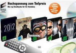 Sony Sommeraktion bei saturn: BluRay Steelboxen für je 8,99€ nur online