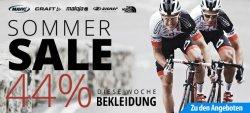 SSV! – 44% auf Fahrrad Bekleidung! + 5€ Gutschein @Fahrrad.de